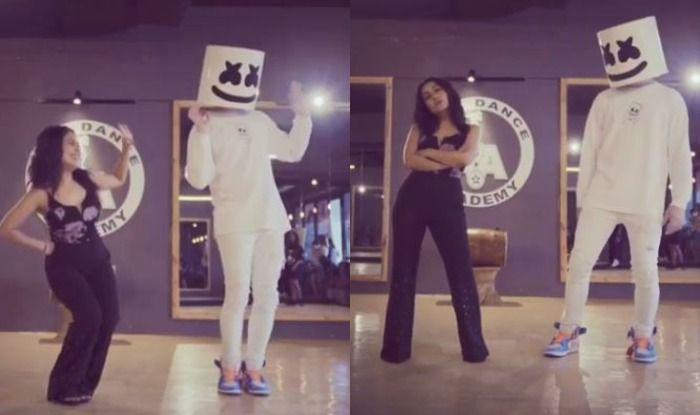 Neha Kakkar Showcases Her Hot Thumkas as She Grooves to Her Song Coca Cola Tu With DJ Marshmello