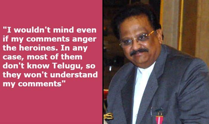 Singer SP Balasubrahmanyam Makes Offensive And Sexist Statement, Says 'Actresses Today Don't Know What to Wear For Film Events'