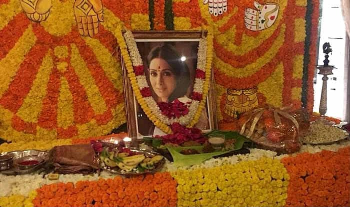 Sridevi's 1st Death Anniversary: Boney Kapoor-Janhvi Kapoor-Khushi Kapoor Perform Puja in Chennai
