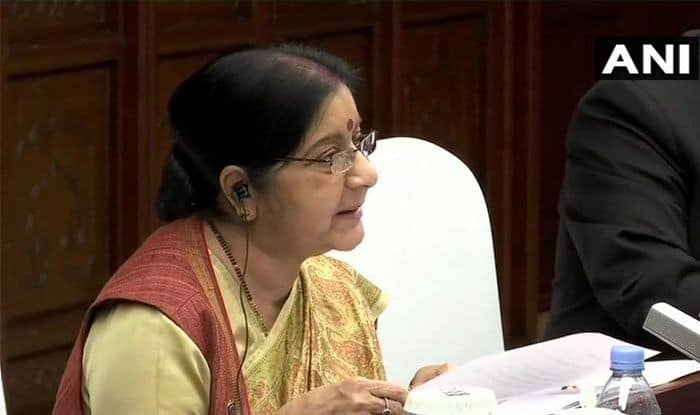 Sushma Swaraj in China: India Reacted After Pakistan Refused to Act, Says EAM on IAF Strike