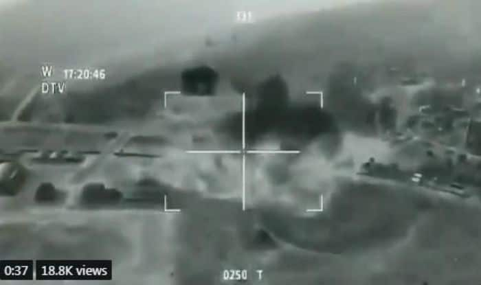 Viral Video of Indian Air Force Striking on Jaish-e-Mohammed Training Camp, Balakot is Actually a Clip From Video Game, Watch
