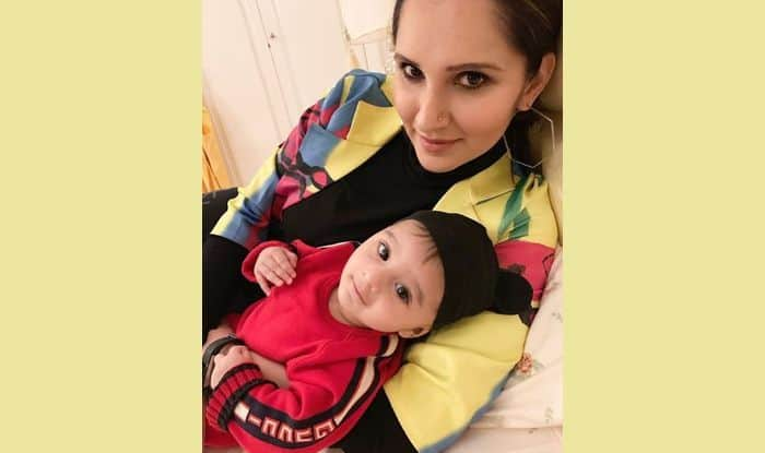 Sania Mirza with son Izhaan
