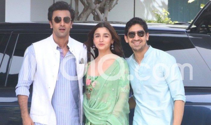 Alia Bhatt, Ranbir Kapoor and Ayan Ayan Mukerji
