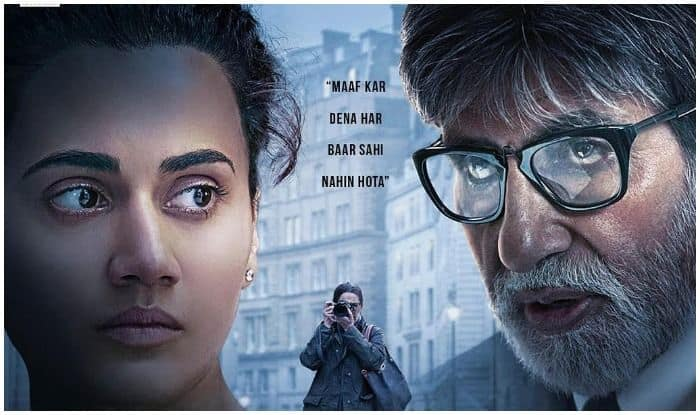 Badla Box Office Collection Day 1: Amitabh Bachchan And Taapsee Pannu Movie Mints Rs 5.94 Crore