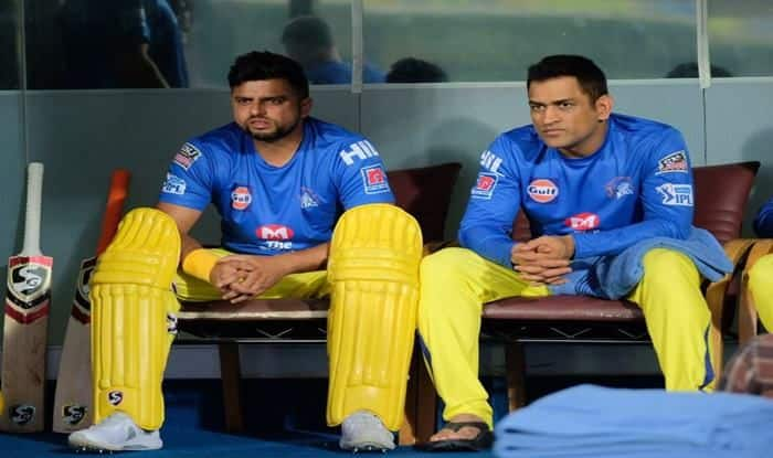 CKS's Dhoni and Raina_picture credits-CSK Media Twitter