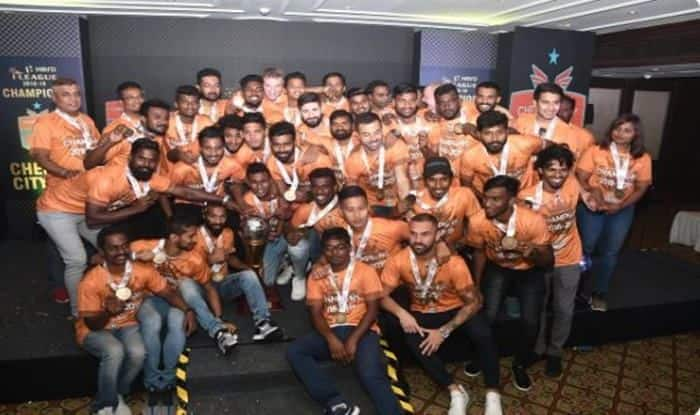 Chennai City Wins I_league 2019_Pictute credits-Chennai City FC Official Handle