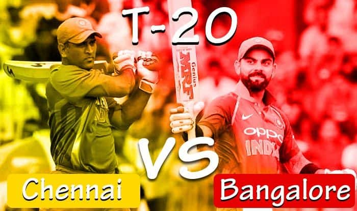 Latest Cricket Score And Updates, Indian T20 League, Chennai vs Bangalore Match 1: Defending Champs Chennai Host Virat Kohli's Bangalore in Campaign Opener