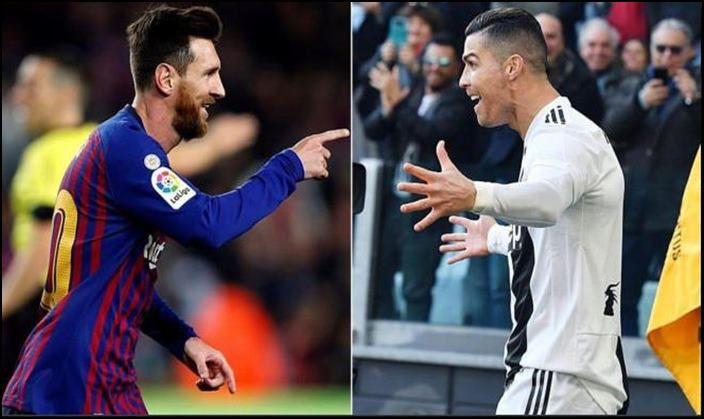 Cristiano Ronaldo and Lionel Messi_picture credits-twitter