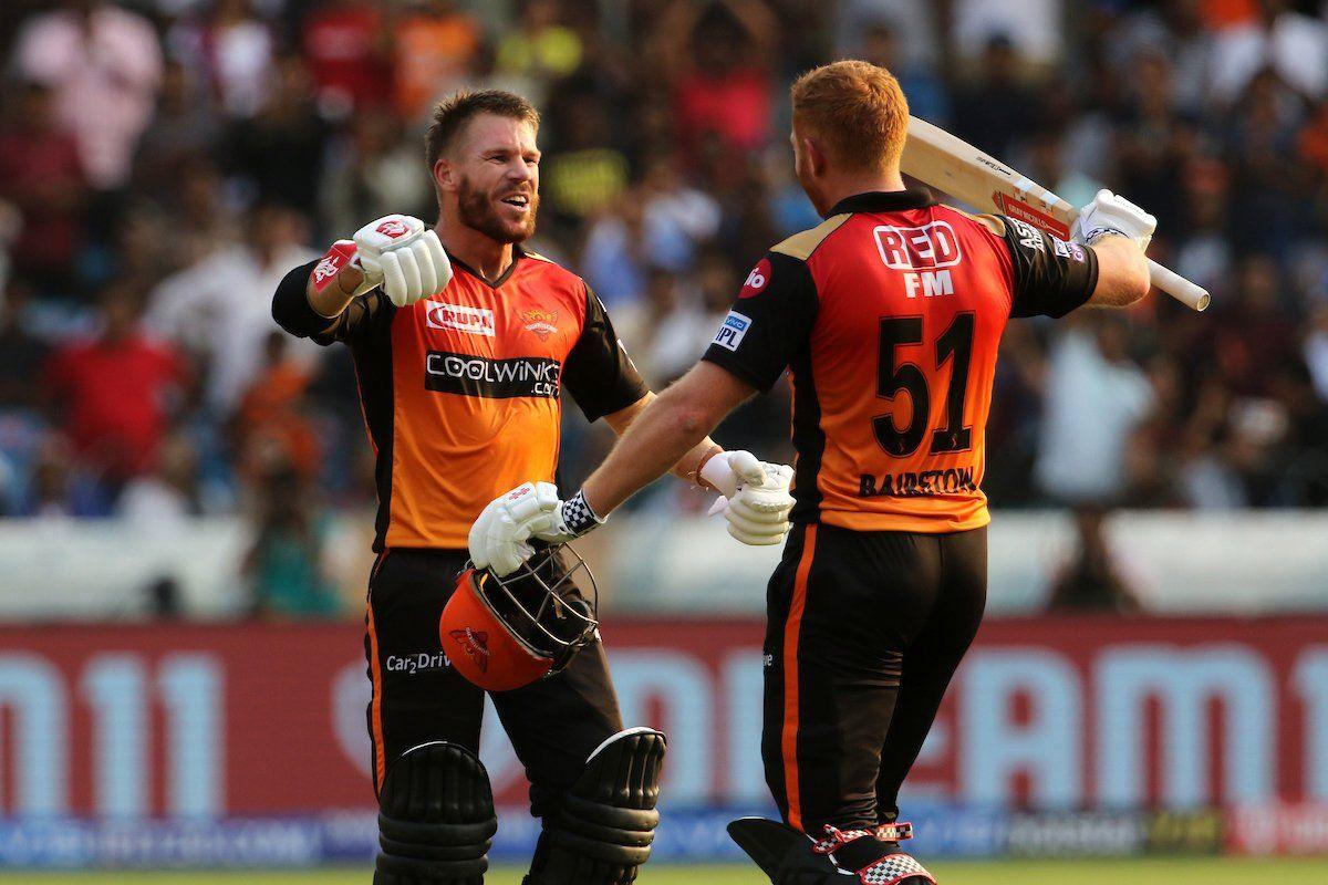 David Warner, Jonny Bairstow , IPL 2019