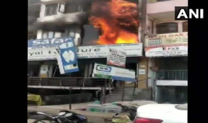 Delhi: Two Minors Charred to Death After Fire Breaks Out in Four-storey Building in Shaheen Bagh