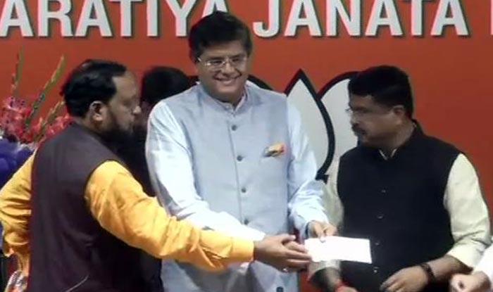 Former Biju Janata Dal MP Baijayant Jay Panda