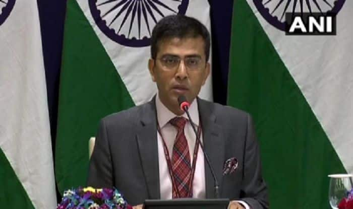 'Naya Pakistan' With 'Nayi Soch' Should Show 'Naya Action' Against Terrorist Groups, Cross-border Terrorism: India