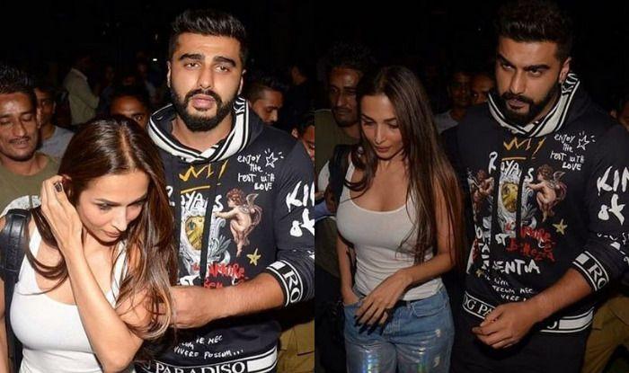 Malaika Arora with Arjun Kapoor