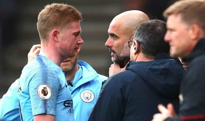 Manchester City's Kevin De Bruyne suffers injury setback_picture credits-twitter