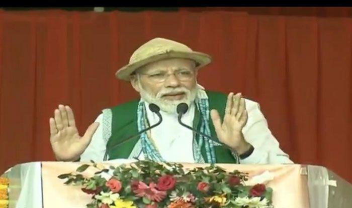 PM Narendra Modi in Arunachal Pradesh