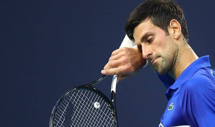 Novak Djokovic defeated by Spain's Bautista-picture credits-twitter