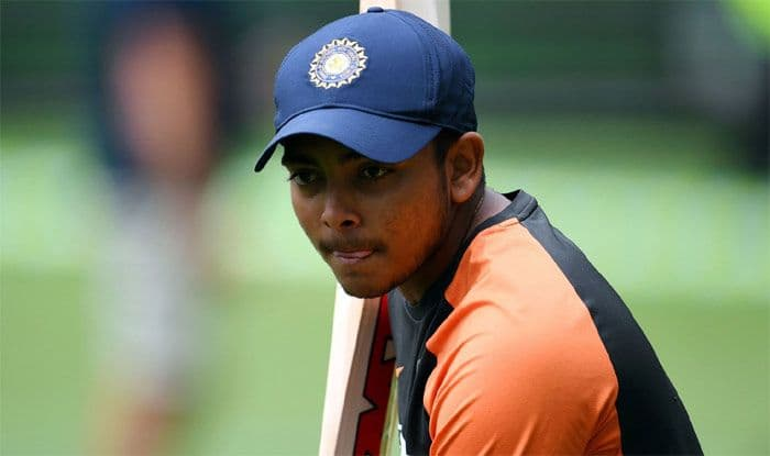 Prithvi Shaw, Prithvi Shaw Suspended, Shaw Suspension, Prithvi Shaw Doping Violation, Prithvi Shaw Doping Test, Shaw Suspended From Cricket, Team India, BCCI, India vs West Indies 2019, Cricket News, Prithvi Shaw Banned,