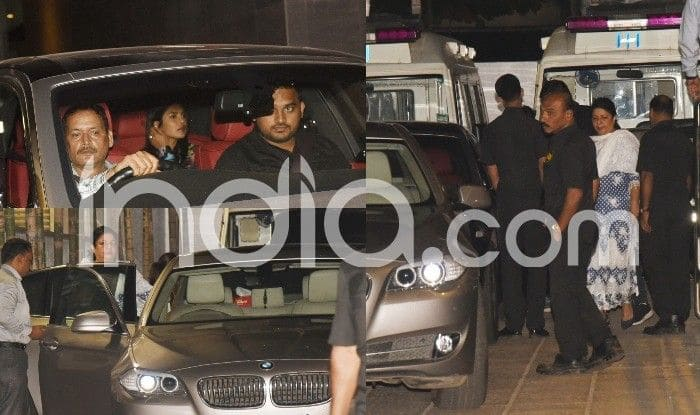 Priyanka Chopra Rushes to a Hospital Along With Her Mother Madhu Chopra Just Before Leaving For The US, See Pictures