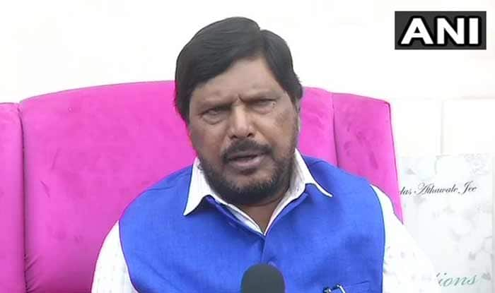 People in PoK Want to be Part of India: Union Minister Ramdas Athawale