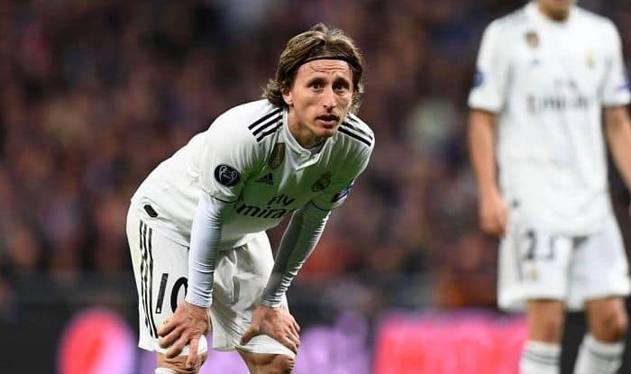 Real Madrid's luka Modric-picture credits- official twitter account