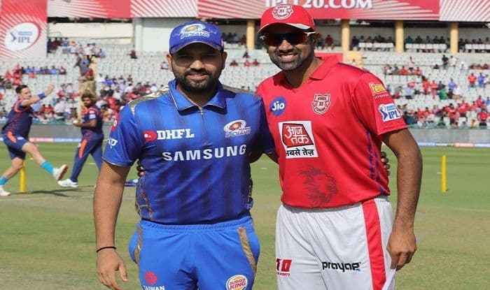 Rohit Sharma of Mumbai Indians and Ravi Ashwin of Kings XI Punjab_Picture credits- Twitter