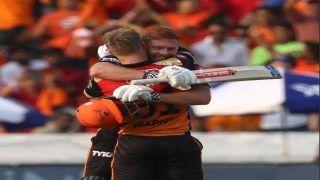 IPL 2019: Jonny Bairstow, David Warner Smash Hundreds to Guide SRH to Mammoth 231/2 vs RCB; Twitter Hails Hyderabad's Opening Duo