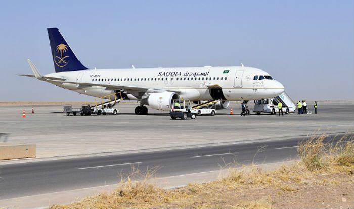 Saudi Arabian flight