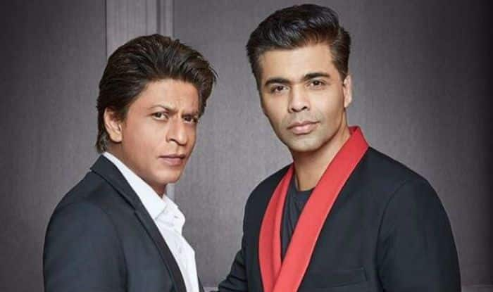 Shah Rukh Khan and Karan Johar