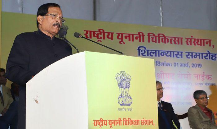 BJP leader Shripad Naik