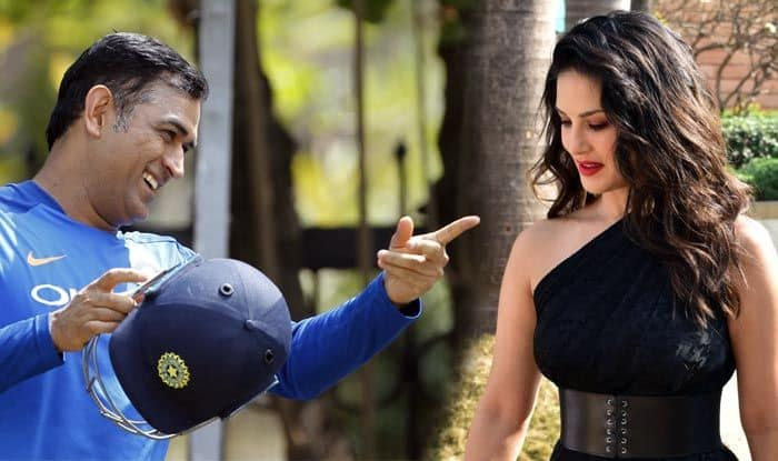 Sunny Leone reveals her favorite cricketer is MS Dhoni