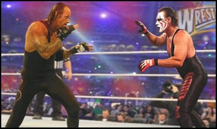 Undertaker vs Sting -fan made graphics_picture credits-Twitter