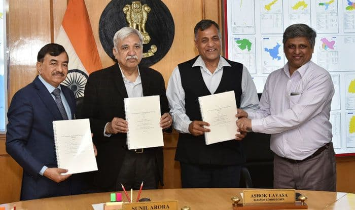 ISI presenting report to EC on VVPAT