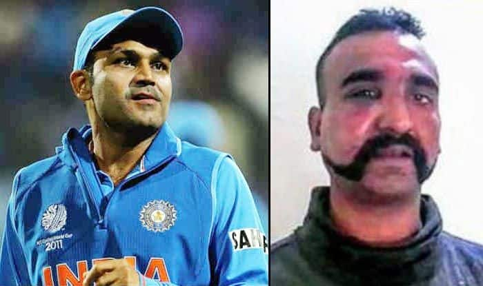 Virender Sehwag Lauds Wing Commander Abhinandan Varthaman, Pens an Emotional Message For Indian Air Force Pilot | SEE POST