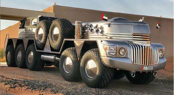 Dubai Sheikh Builds World's Biggest SUV named 'Dhabiyan' And