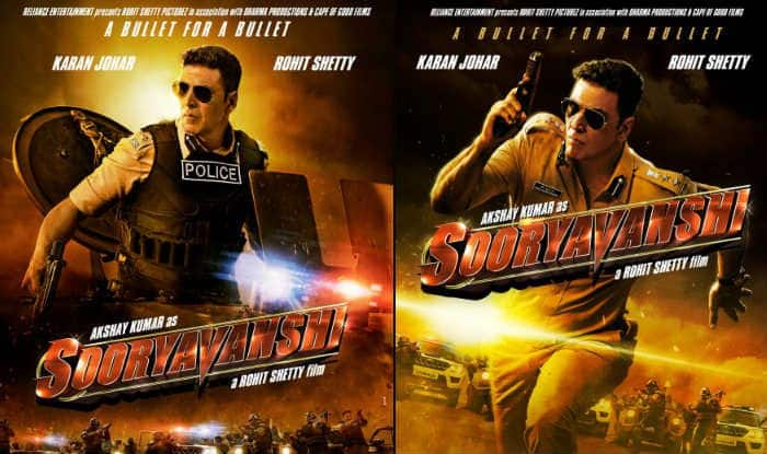 Rohit Shetty's Sooryavanshi Posters Out: Meet Akshay Kumar as Fearless Cop Who's Ready to Give a 'Bullet For a Bullet'