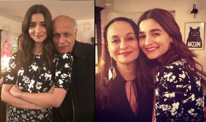 Mahesh Bhatt Wishes 'Sunshine' Daughter Alia Bhatt With This Lovely Picture From Her Birthday Party