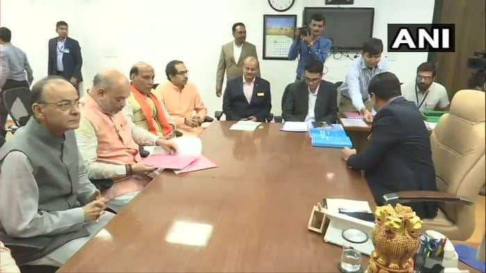 Amit Shah Set to Contest First Lok Sabha Election, Files Nomination From Gandhinagar in Gujarat