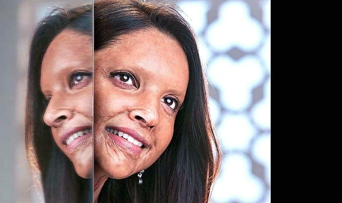 Deepika Padukone first look chhapaak