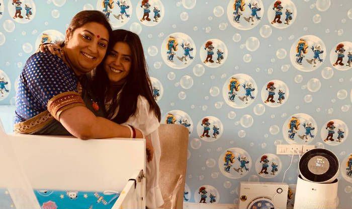 Ekta Kapoor Posts a Lovely Birthday Wish For 'Massi' Smriti Irani on Behalf of Little Ravie Kapoor – See Picture