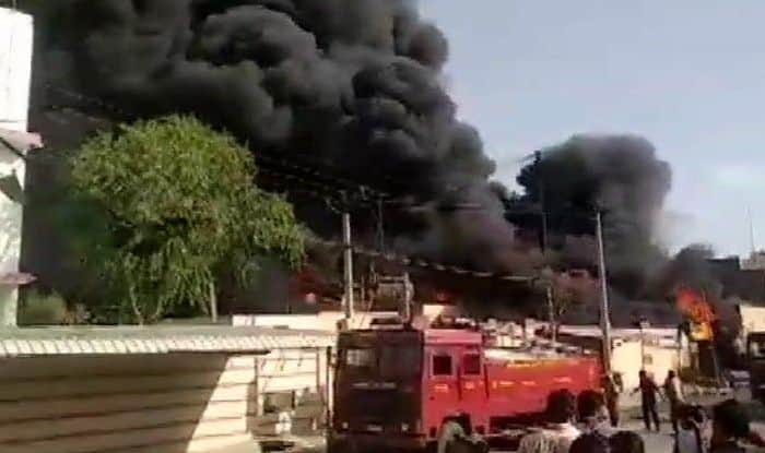 Rajasthan: Fire Breaks Out at Chemical Factory, Operation Underway