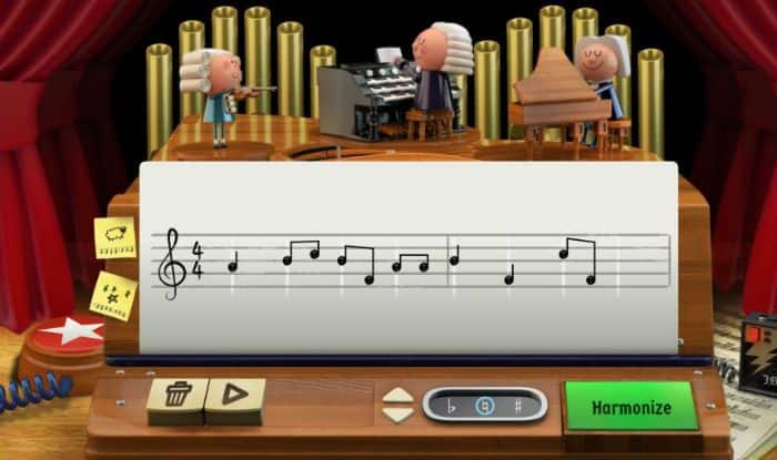 Google Doodle on German Musician Johann Sebastian Bach Gives You a Chance to Generate Music