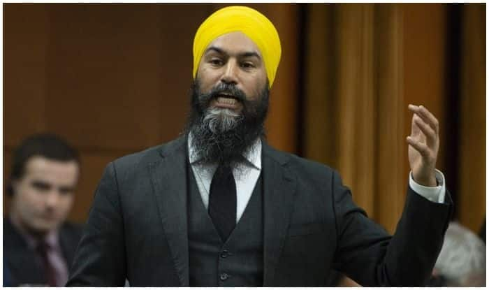 Indian-origin Jagmeet Singh Makes History in Canada's House of Commons, Becomes First Non-white Leader of Major Opposition Party