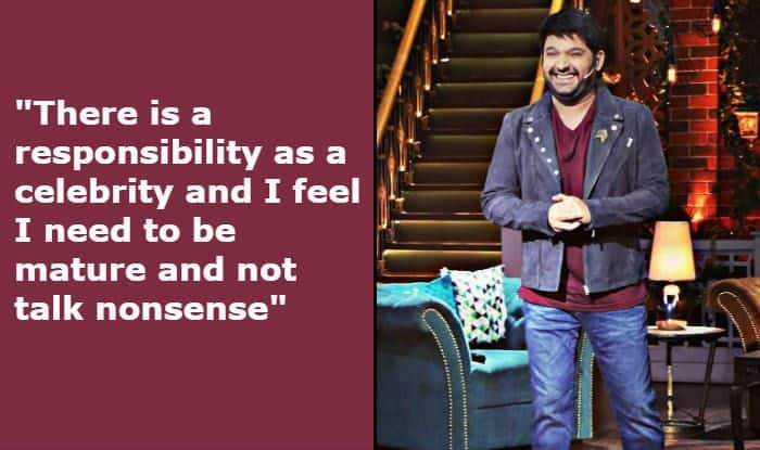 Kapil Sharma Talks About Learning From Mistakes And His Responsibility as a Celebrity