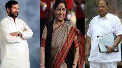 शरद पवार से लेकर सुषमा स्वराज और पासवान… दशकों तक राजनीति के सेंटर में रहे, इस बार नहीं लड़ेंगे चुनाव