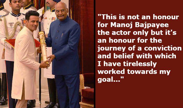 Manoj Bajpayee's Emotional Statement on Receiving Padma Shri: Feeling of Victory is Sweet