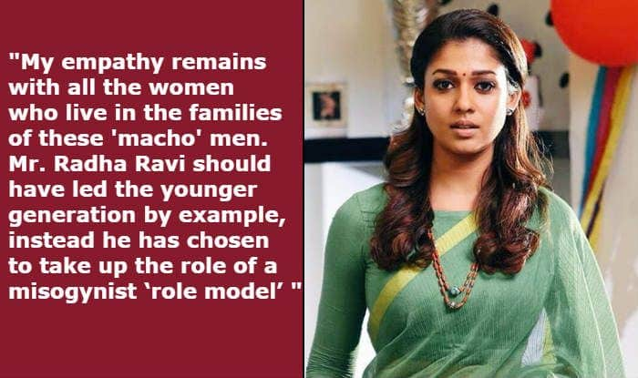 Nayanthara Issues Statement Against Radha Ravi's Misogynist Behaviour, Thanks DMK And Questions Nadigar Sangam For Not Taking Any Action