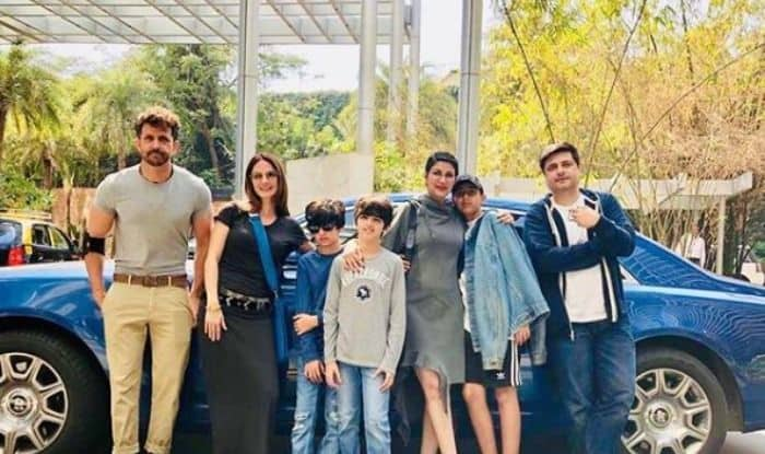 Hrithik Roshan, Sussanne Khan, Sonali Bendre, Goldie Behl