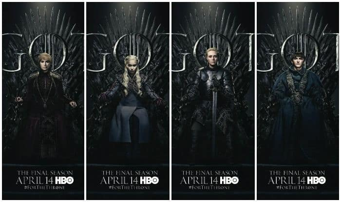 Game of Thrones Season 8: Daenerys Targaryen, Jon Snow, Arya Stark And Others Feature in 20 Character Posters, Maintain Suspense Over Final Possessor of Iron Throne