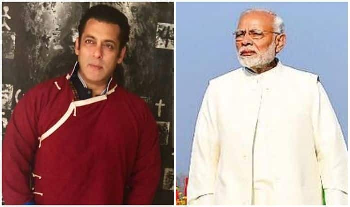 Bharat Star Salman Khan Slams Reports of Contesting in Upcoming Lok Sabha Elections 2019 After Sharing PM Narendra Modi's Tweet, Says 'Not Campaigning For Any Political Party'