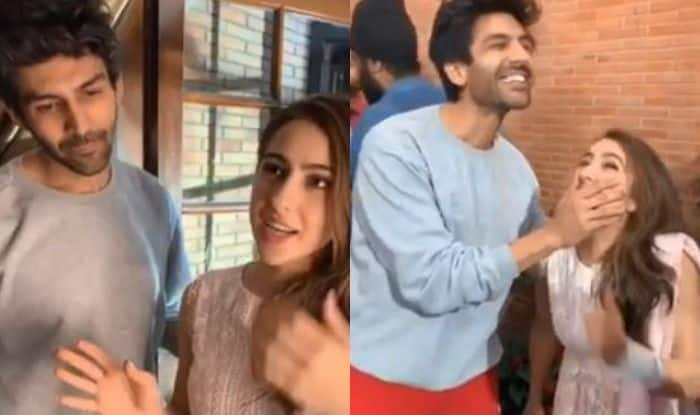 Sara Ali Khan's Sneak Peek Video on Wrapping Delhi Schedule of Imtiaz Ali's Next Shows Her Screaming Co-Actor Kartik Aaryan's Name And Fans Can't Keep Calm, Viral Post Breaks Internet